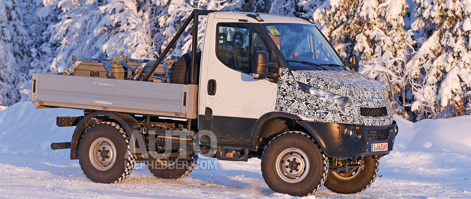 Iveco Daily test met 4x4